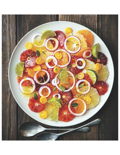 Citrus Salad with Red Onion and Mint