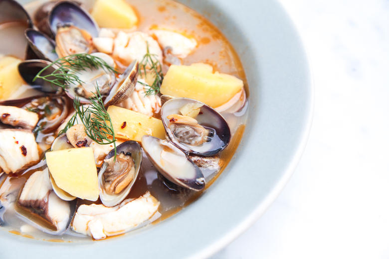 Fish and Shellfish Stew