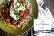 Homemade Spaghetti and Meatballs with Ricotta