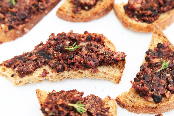 Olive and Fig Toast