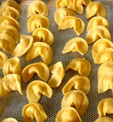 Agnolotti with Fontal, Fontina, Butter and Sage