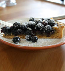 Blueberry Brown Butter Tart