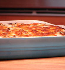 Lasagne with Wild Mushrooms, Leeks and Gorgonzola