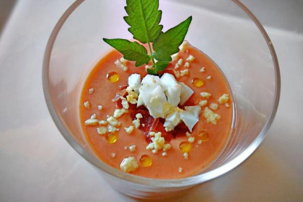 Salmorejo- Spanish Chilled Tomato Soup
