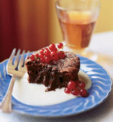 Warm Little Chocolate Cakes with Soft Centers