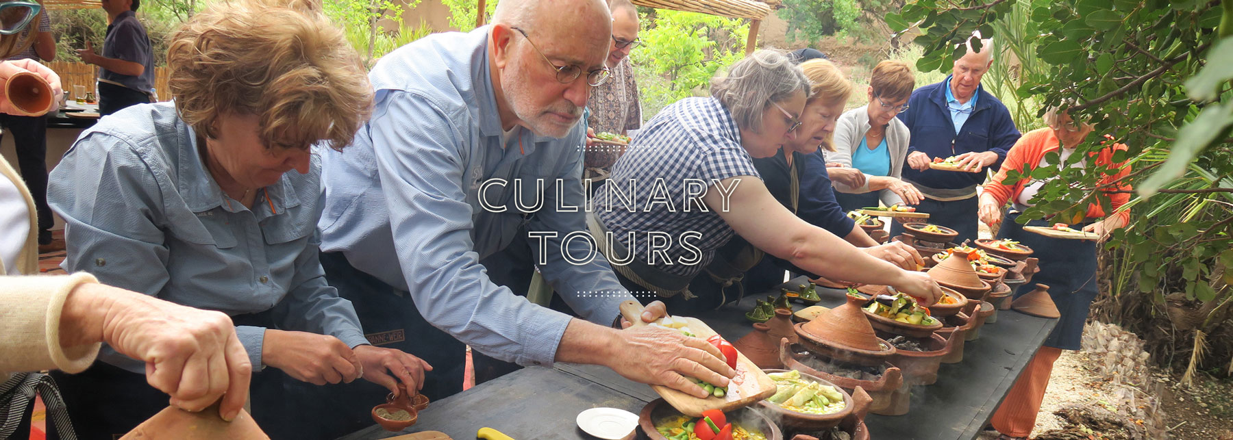 Culinary Tour Class Outdoor